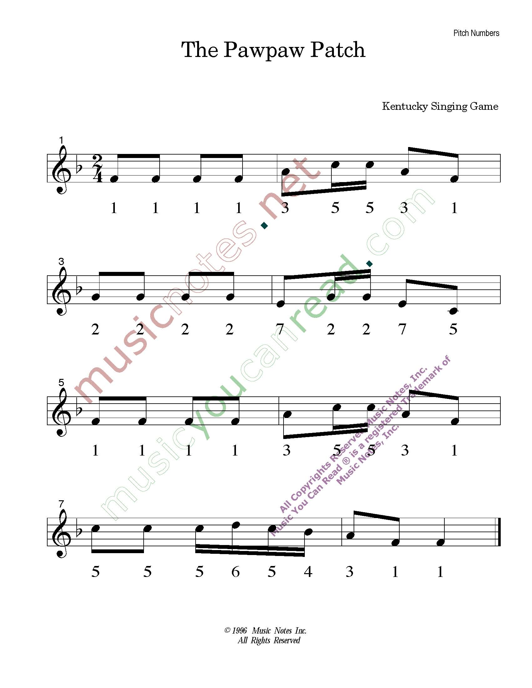 Home Page Music You Can Read Kodaly Orff Solfeggio Elementary Music