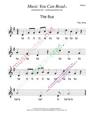 "Click to enlarge: ""The Bus""  Beats Format"