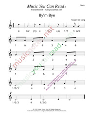 "Click to enlarge: ""By'm Bye"" Beats Format"