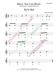 "Click to Enlarge: ""By'm Bye"" Pitch Number Format"