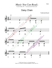 "Click to enlarge: ""Daisy Chain"" Beats Format"