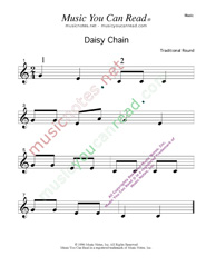 """Daisy Chain"" Text Format"