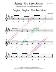"Click to Enlarge: ""Engine, Engine, Number Nine"" Pitch Number Format"