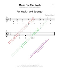 "Click to enlarge: ""For Health and Strength"" Beats Format"