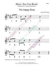 "Click to enlarge: ""The Happy River"" Beats Format"