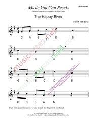 "Click to Enlarge: ""The Happy River"" Letter Names Format"