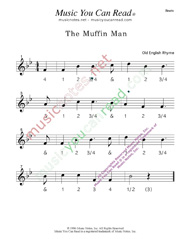 "Click to enlarge: ""The Muffin Man"" Beats Format"
