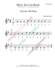 "Click to Enlarge: ""Sandy Mc Nab"" Pitch Number Format"