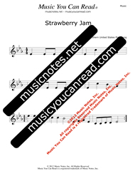 """Strawberry Jam"" Music Format"