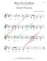 "Click to enlarge: ""Sweet Potatoes"" Beats Format"