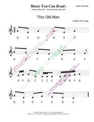 "Click to Enlarge: ""This Old Man"" Letter Names Format"
