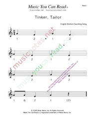 "Click to enlarge: ""Tinker, Taylor"" Beats Format"