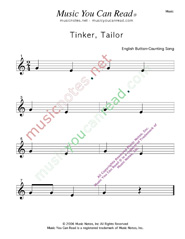 """Tinker, Taylor"" Music Format"