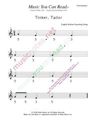 "Click to Enlarge: ""Tinker, Taylor"" Pitch Number Format"