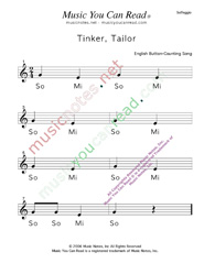 "Click to Enlarge: ""Tinker, Taylor"" Solfeggio Format"