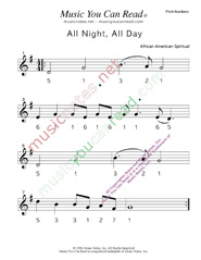 "Click to Enlarge: ""All Night, All Day"" Pitch Number Format"