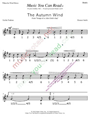 "Click to enlarge: ""The Autumn Wind"" Beats Format"