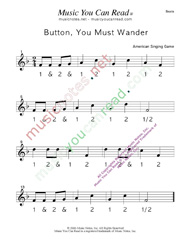 "Click to enlarge: ""Button You Must Wander"" Beats Format"