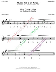 "Click to Enlarge: ""The Caterpillar"" Pitch Number Format"