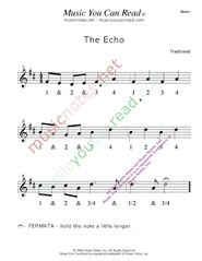 "Click to enlarge: ""The Echo"" Beats Format"
