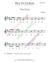 "Click to Enlarge: ""The Echo"" Pitch Number Format"