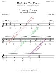 "Click to Enlarge: ""Evening Prayer"" Pitch Number Format"
