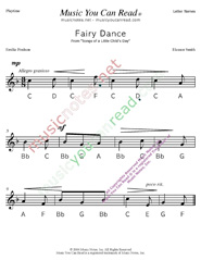 "Click to Enlarge: ""Fairy Dance"" Letter Names Format"