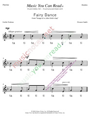 "Click to Enlarge: ""Fairy Dance"" Rhythm Format"