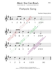 "Click to enlarge: ""Fishpole Song"" Beats Format"
