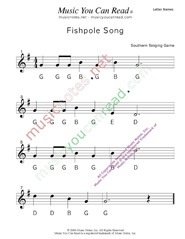 "Click to Enlarge: ""Fishpole Song"" Letter Names Format"