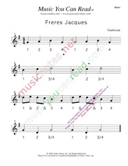 "Click to enlarge: ""Freres Jacues"" Beats Format"