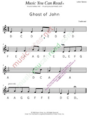 "Click to Enlarge: ""Ghost of John"" Letter Names Format"