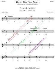 "Click to Enlarge: ""Grand Ladies"" Rhythm Format"