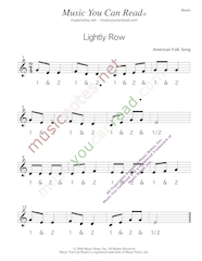 "Click to enlarge: ""Lightly Row"" Beats Format"