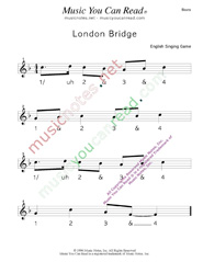 "Click to enlarge: ""London Bridge"" Beats Format"