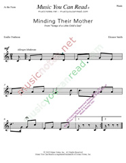 """Minding the Mother"" Music Format"