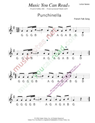 "Click to Enlarge: ""Punchinella"" Letter Names Format"