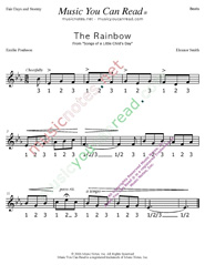 "Click to enlarge: ""The Rainbow"" Beats Format"