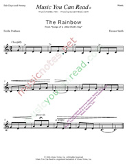 """The Rainbow"" Music Format"