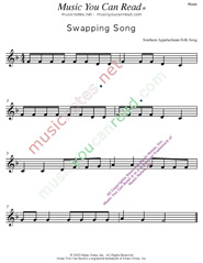 """Swapping Song"" Music Format"