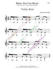 "Click to enlarge: ""Teddy Bear"" Beats Format"