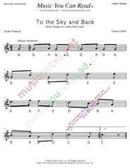 "Click to Enlarge: ""To the Sky and Back"" Letter Names Format"
