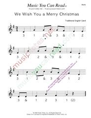 Fabulous We Wish You A Merry Christmasquot Traditional Lyrics Music Notes Easy Diy Christmas Decorations Tissureus