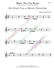 Awe Inspiring We Wish You A Merry Christmasquot Traditional Lyrics Music Notes Easy Diy Christmas Decorations Tissureus