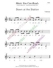 "Click to enlarge: ""Down at the Station"" Beats Format"
