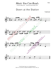 """Down at the Station"" Music Format"