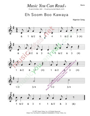 "Click to enlarge: ""Eh Soom Boo Kawaya"" Beats Format"