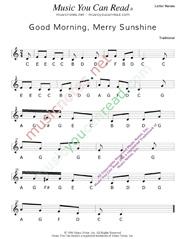 click to enlarge good morning merry sunshine letter names format