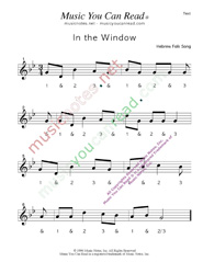 "Click to enlarge: ""In the Window"" Beats Format"
