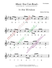"Click to Enlarge: ""In the Window"" Pitch Number Format"
